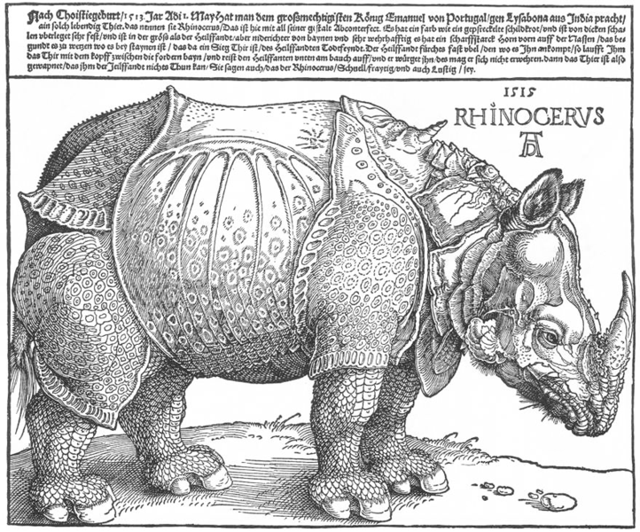 400 created the woodcut by Albrecht Dürer of Nuremberg. He made the most beautiful woodcuts ever made.