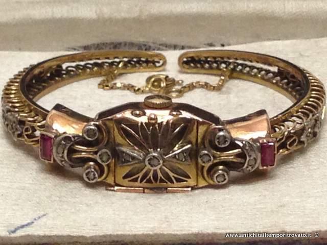 orologio oro antico