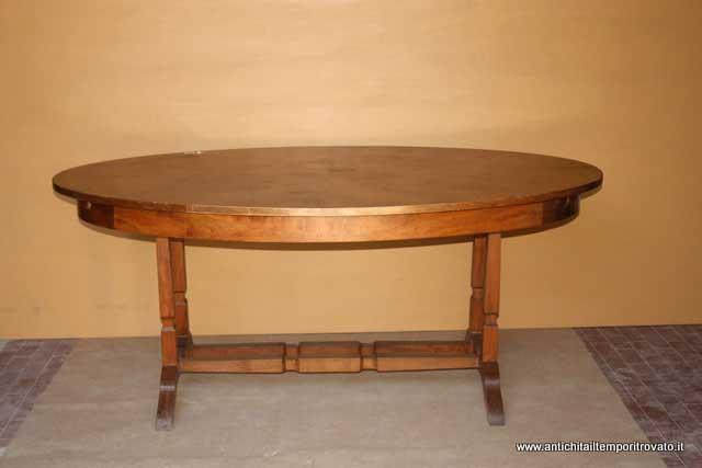 Tavolo Ovale Antico : Antichità il tempo ritrovato antiquariato e restauro mobili