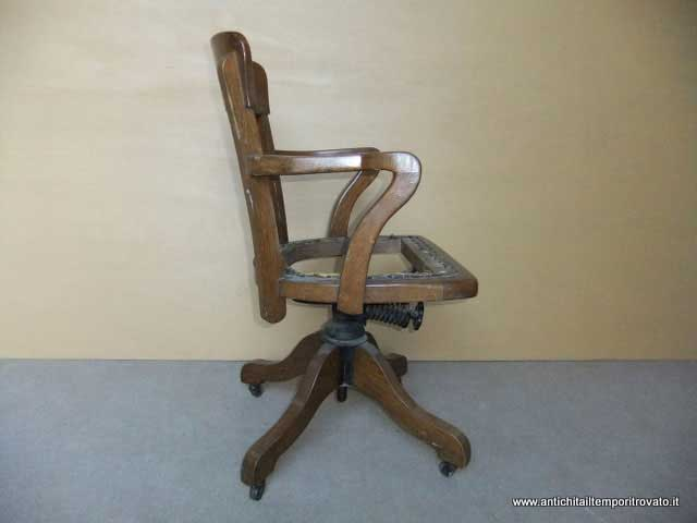 Sedia Basculante Da Ufficio.Antichita Il Tempo Ritrovato Antiquariato E Restauro