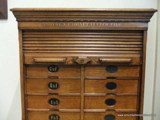 Mobili Archivio Ufficio : Antichità il tempo ritrovato antiquariato e restauro mobili