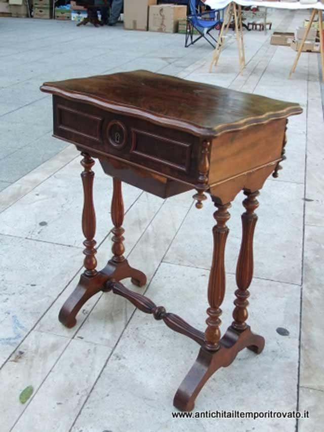 Antichità il tempo ritrovato - Antiquariato e restauro - Mobili antichi-Tavoli e tavolini ...