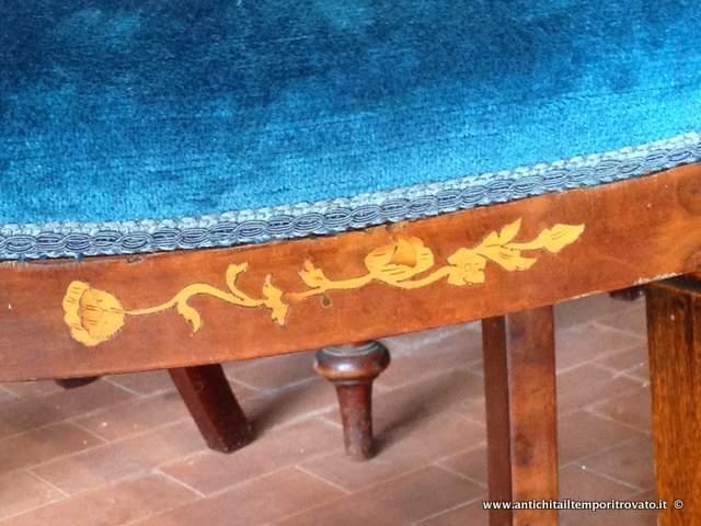 Sedie Depoca : Antichità il tempo ritrovato antiquariato e restauro mobili
