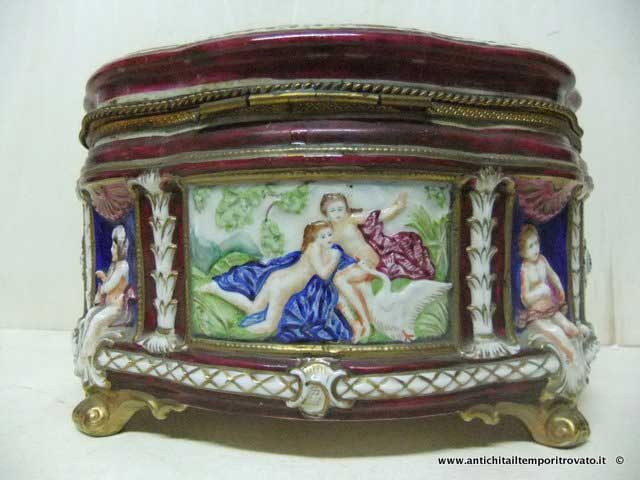 Scarpe vintage di capodimonte fioriera in ceramica scarpa etsy