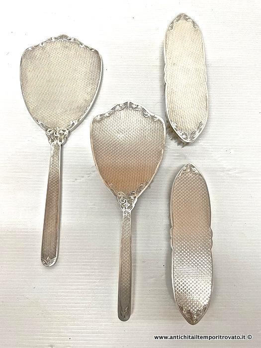 Set Spazzola Specchio.Antichita Il Tempo Ritrovato Antiquariato E Restauro