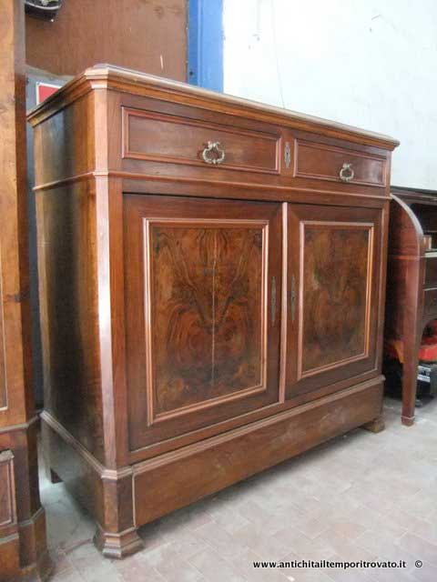 Antichit il tempo ritrovato antiquariato e restauro mobili antichi credenze credenza - Immagini mobili antichi ...