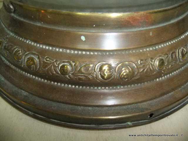 Plafoniere In Ottone : Antichità il tempo ritrovato antiquariato e restauro