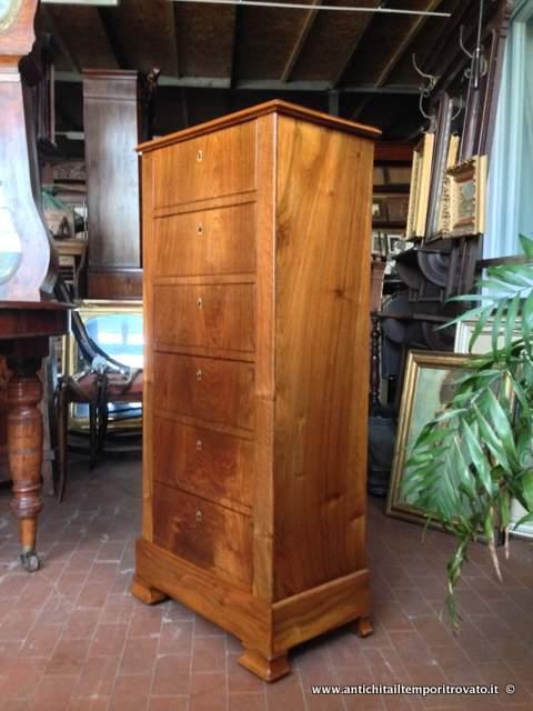 Antichit il tempo ritrovato antiquariato e restauro mobili antichi cassettoni piccola - Restauro mobili impiallacciati ...