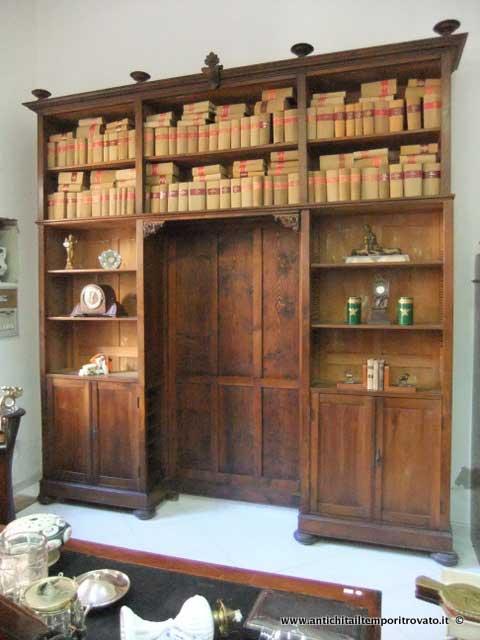 Antiquariato e restauro di mobili d 39 epoca e antichi a cagliari for Mobili da studio