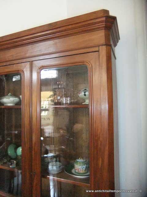 Antichit il tempo ritrovato antiquariato e restauro mobili antichi librerie antica - Mobili antichi francesi ...