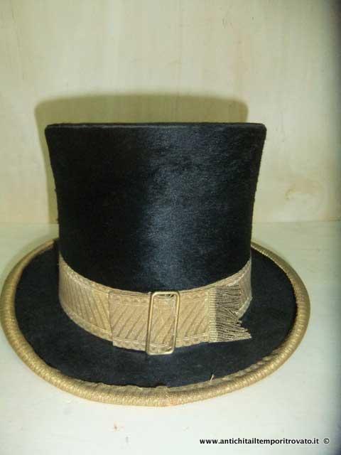 Oggettistica d`epoca - Oggetti vari Antico cappello a cilindro - Antico  cilindro inglese Immagine 16ed5e10065b