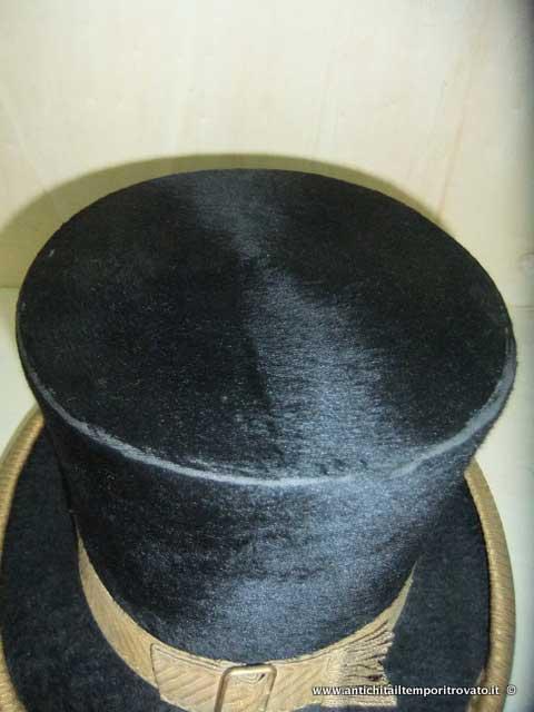 ... Oggettistica d`epoca - Oggetti vari - Antico cappello a cilindro -  Immagine n° ... 390baaaa3e0f