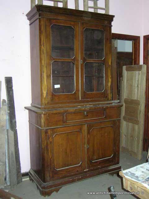 Antichit il tempo ritrovato antiquariato e restauro mobili antichi credenze antiche antica - Immagini mobili antichi ...