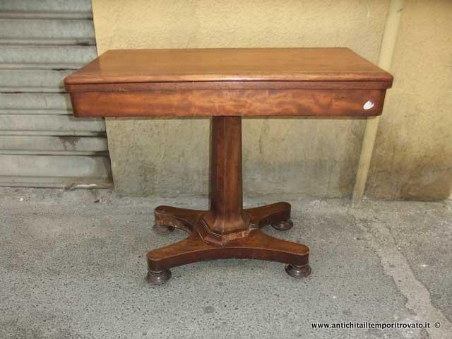 antichi - Tavoli da giocoAntico tavolo da gioco - Tavolo da gioco ...