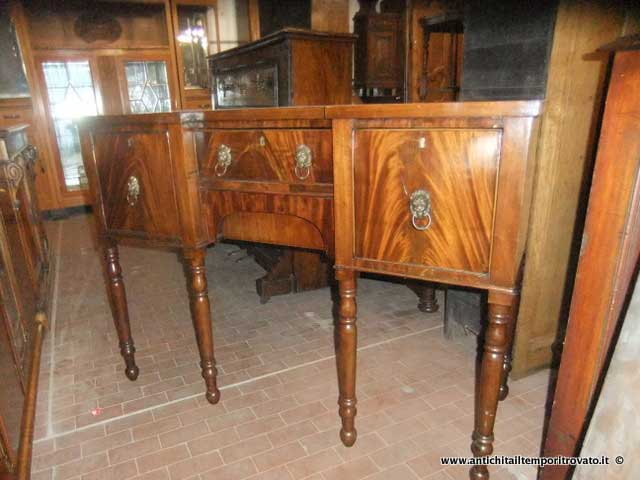 Mobili antichi - Credenze  - Antico sideboard Antico buffet inglese - Immagine n°8