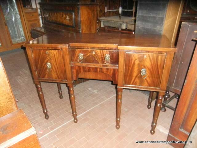 Mobili antichi - Credenze  - Antico sideboard Antico buffet inglese - Immagine n°9