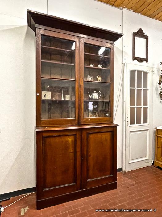 Antichit il tempo ritrovato antiquariato e restauro mobili antichi librerie libreria - Restauro mobili impiallacciati ...