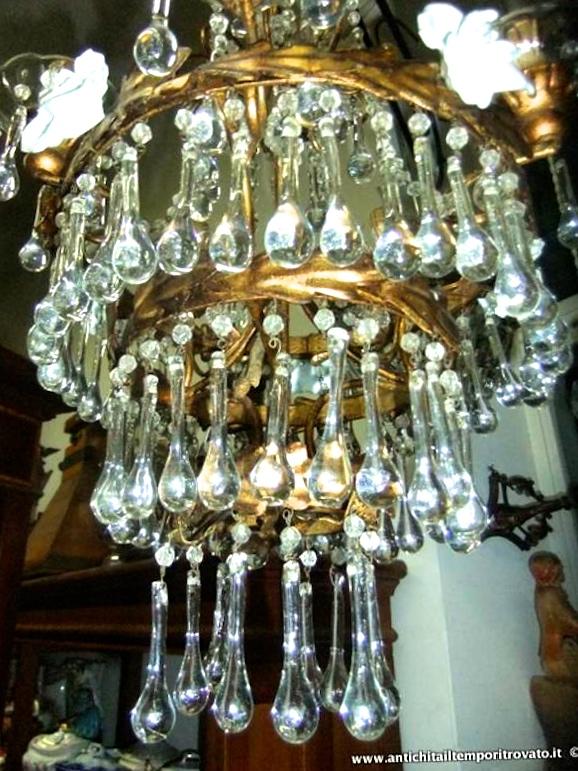 lampadari d epoca : ritrovato - Antiquariato e restauro - Oggettistica d`epoca-Lampadari e ...