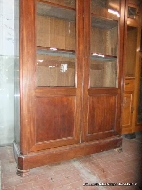 Antichit il tempo ritrovato antiquariato e restauro mobili antichi librerie antica libreria - Restauro mobili impiallacciati ...