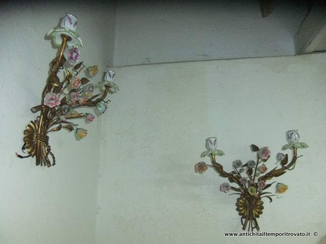 Lampadari In Ferro E Ceramica : Lampadari in ferro battuto e ceramica fresco pastis lampadario