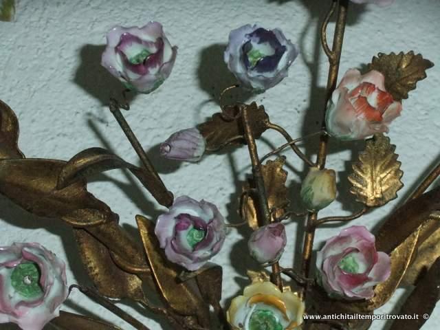 Lampadari In Ferro E Ceramica : Taverna illuminazione lampadari e applique in ceramica