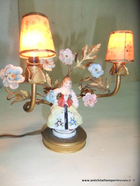 marchi lampadari : Oggettistica d`epoca - Lampadari e lampadeAntica lampada da tavolo in ...