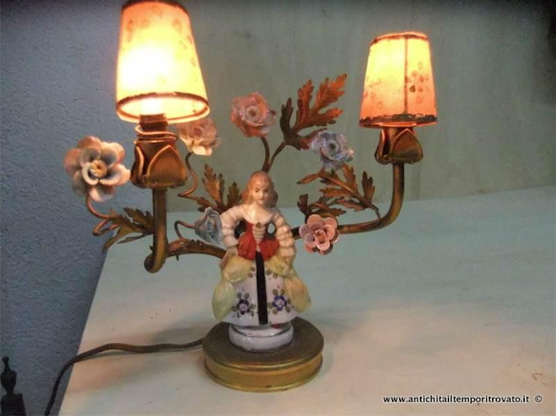 Lampade in porcellana lampada da soffitto in porcellana for Novalis arredamenti