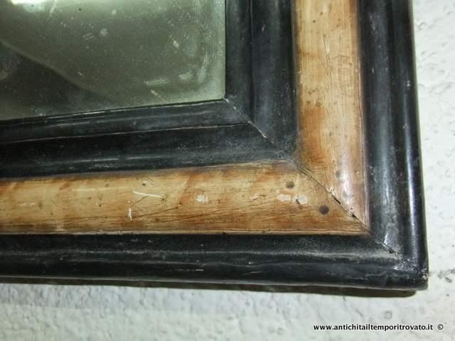 Antichit il tempo ritrovato antiquariato e restauro for Specchio fine 800