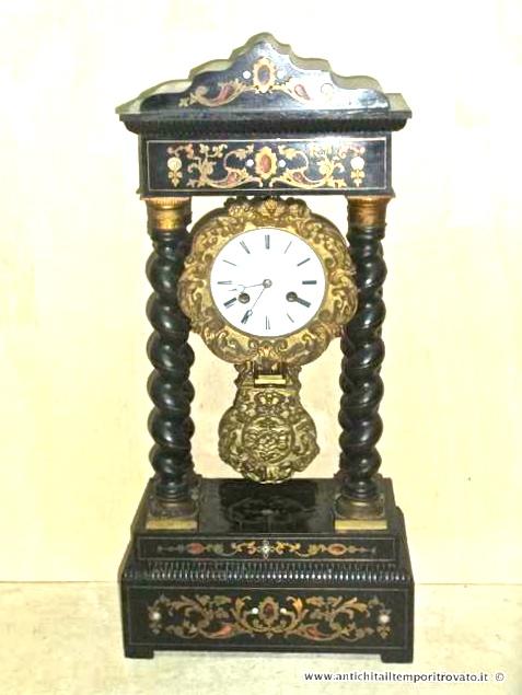 Orologi a pendolo da tavolo antichi - Orologi antichi da tavolo ...