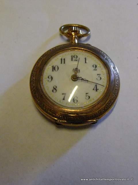 a868f9bcb5833a Oggettistica d`epoca - Orologi e portaorologi Antico orologio a cipolla da  signora - Antico