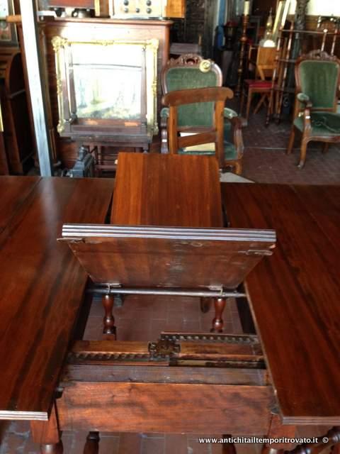 Antichit il tempo ritrovato antiquariato e restauro mobili antichi tavoli a bandelle - Mobili americani ...