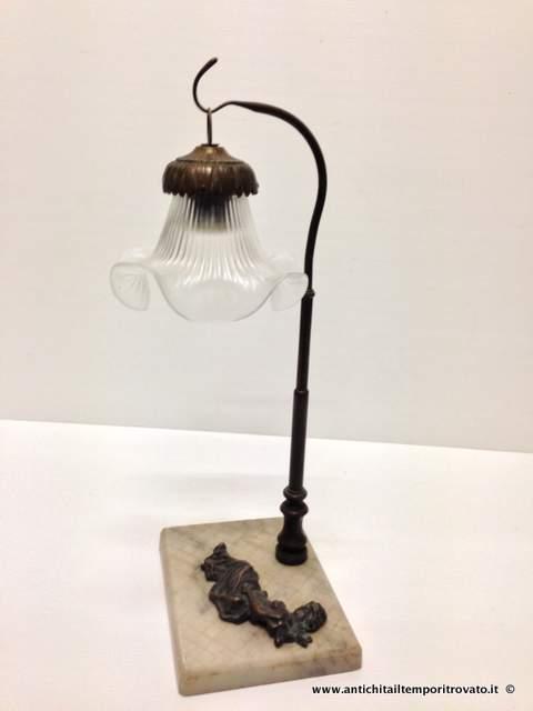 lampadari d epoca : Oggettistica d`epoca - Lampadari e lampadeLampada da tavolo liberty ...