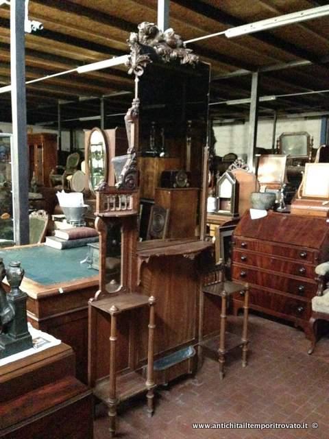 Mobili Ingresso Antichi : Antiquariato e restauro mobili antichi vari ...