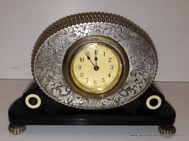 orologi da tavolo argento prezzo