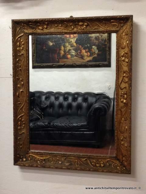 Antichit il tempo ritrovato antiquariato e restauro - Cornici per specchi ...