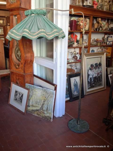 ... - Oggettistica d`epoca-Lampadari e lampade-Lampada da terra vintage