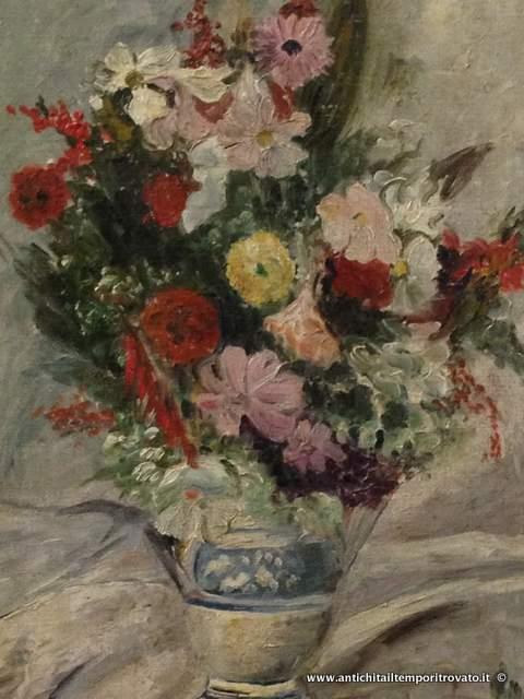 Antichit il tempo ritrovato antiquariato e restauro for Vasi di fiori dipinti
