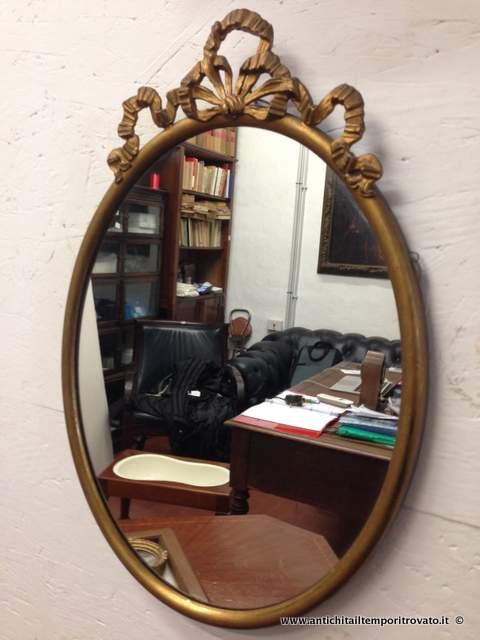 Antichit il tempo ritrovato antiquariato e restauro oggettistica d epoca specchi e cornici - Specchio in francese ...