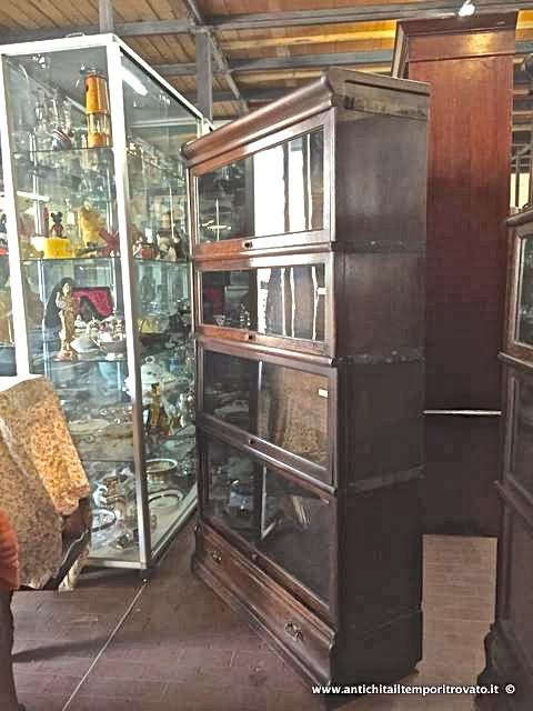 Antichit il tempo ritrovato antiquariato e restauro for Moduli libreria