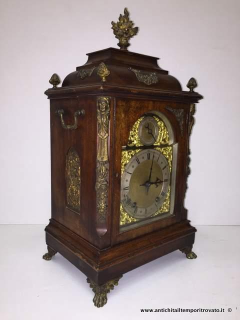 Antichit il tempo ritrovato antiquariato e restauro oggettistica d epoca orologi e - Orologio a pendolo da tavolo ...
