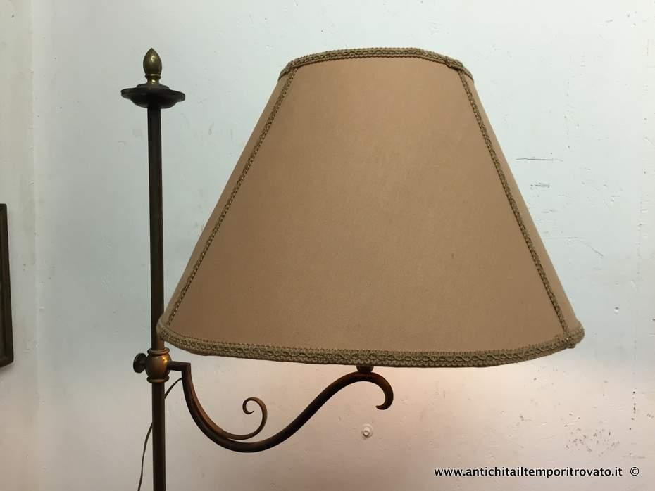 Lampada Vintage Da Terra : Antichità il tempo ritrovato antiquariato e restauro