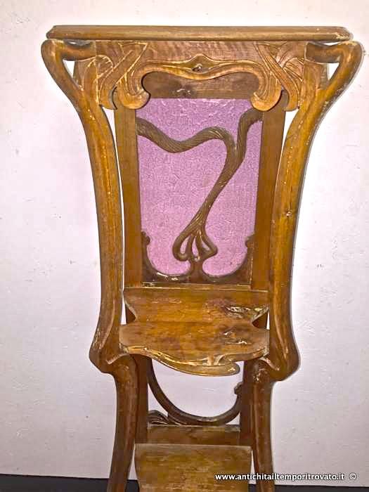 Antichit il tempo ritrovato antiquariato e restauro - Art nouveau mobili ...