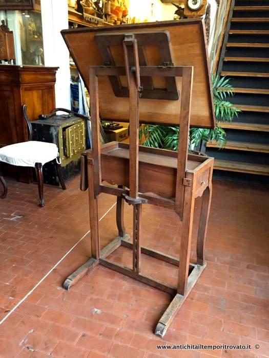 Antichit il tempo ritrovato antiquariato e restauro mobili antichi mobili vari antico - Dove comprare un leggio da tavolo ...