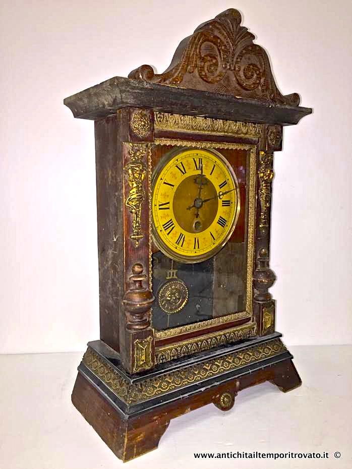Antichit il tempo ritrovato antiquariato e restauro oggettistica d epoca orologi e - Orologi d epoca da tavolo ...