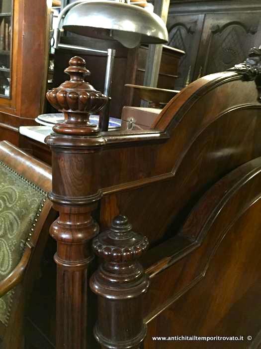 Antichit il tempo ritrovato antiquariato e restauro mobili antichi mobili vari antico letto - Mobili antichi francesi ...