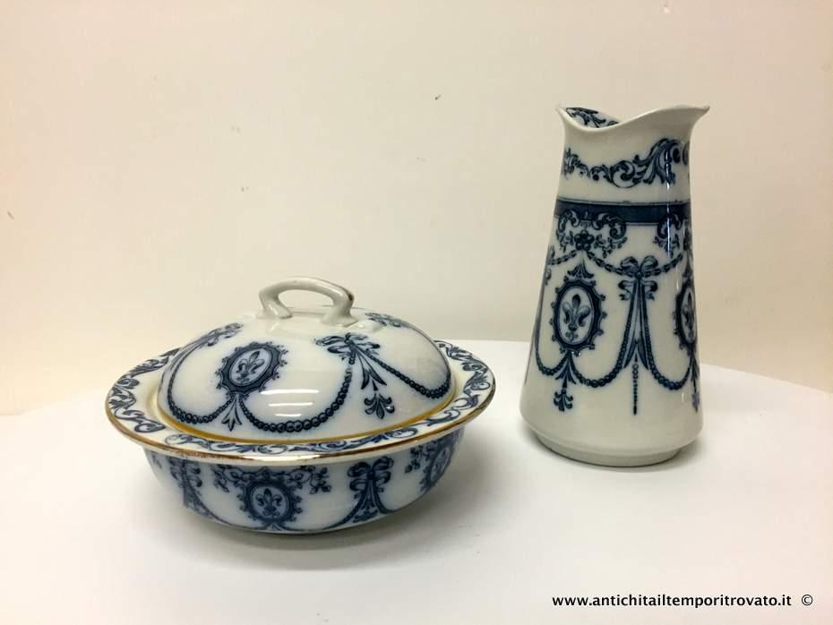Portasapone Bagno In Ceramica.Antichita Il Tempo Ritrovato Antiquariato E Restauro