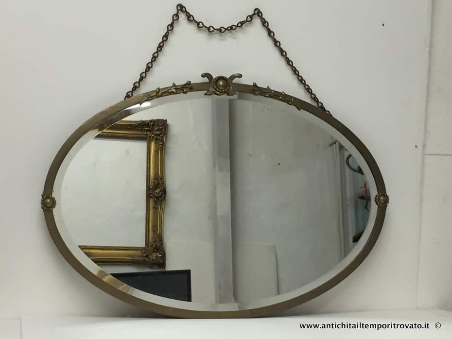 Antichit il tempo ritrovato antiquariato e restauro for A specchio in inglese