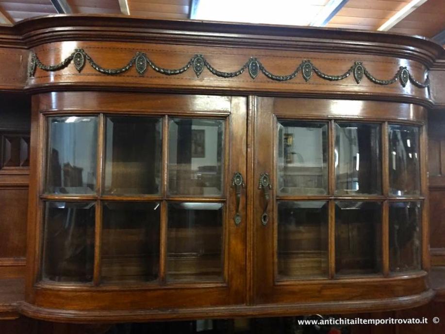 Credenza Con Vetro : Antichità il tempo ritrovato antiquariato e restauro mobili