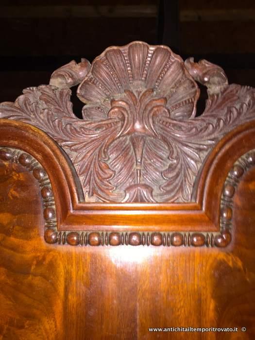 Antichit il tempo ritrovato antiquariato e restauro mobili antichi armadi antico armadio - Mobili biedermeier ...