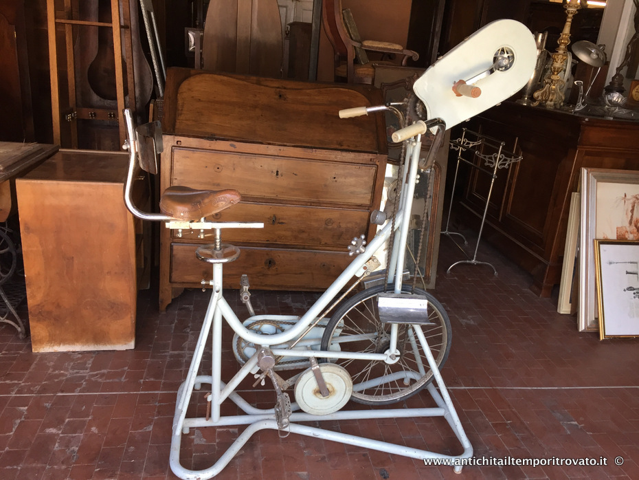 Cyclette per fisioterapia vintage - Cyclette vintage